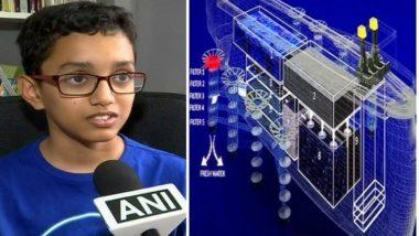 12-Year-Old Pune boy Haaziq Kazi Designs Ship 'ERVIS' to Help Reduce Pollution in Ocean