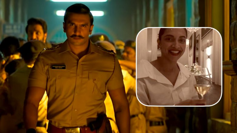 Deepika Padukone Makes for the Cutest Cheerleader as She Roots for Ranveer Singh's Simmba - Watch Video