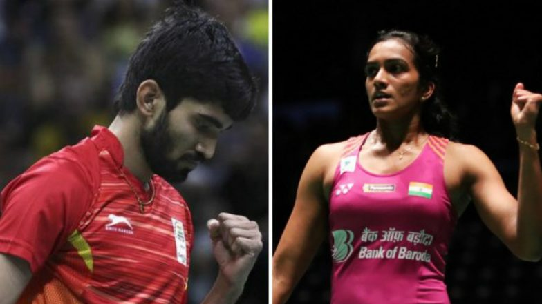 Kidambi Srikanth, PV Sindhu Among Athletes Approved by SAI for TOPS Scheme Ahead of Tokyo 2020 Olympics