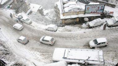 Jammu & Kashmir: All Flights from Srinagar Cancelled Following Heavy Snowfall