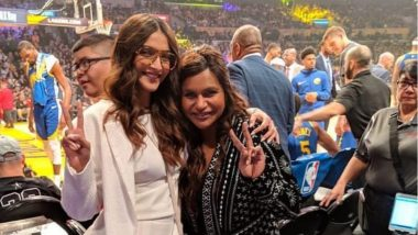 Sonam Kapoor Hung Out With Mindy Kaling And This Is One Project We're Eager To Get More Deets On!