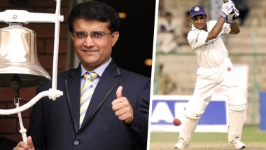 Jacob Martin Road Accident: 'You Are Not Alone,' Says Sourav Ganguly As He Pledges Support to Family of Former Indian Cricketer