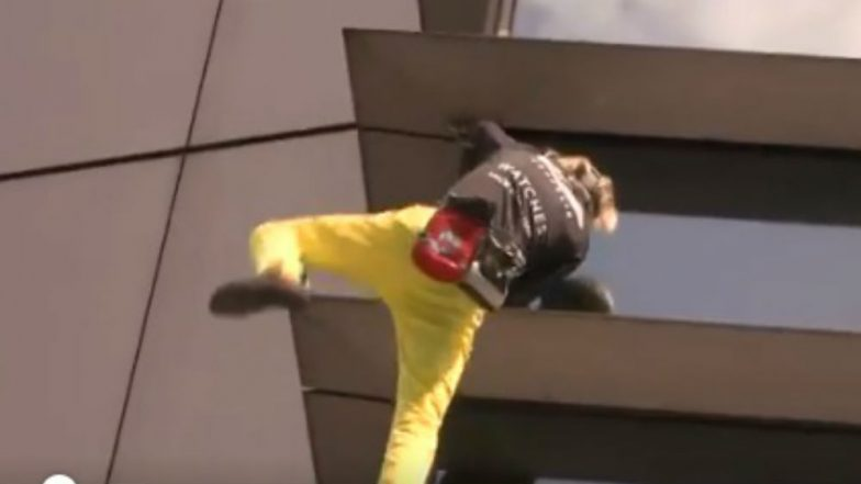 French 'Spider-Man' Alain Robert Arrested After Climbing 47-Storey Building at 721-Feet Height in Manila