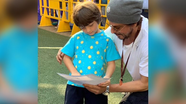 Shah Rukh Khan Shares The 'Playboys' Mantra' With AbRam and Aryan - See Pic