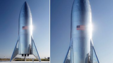 Elon Musk Reveals Picture of Starship, The Rocket That Can Carry People to Moon and Mars