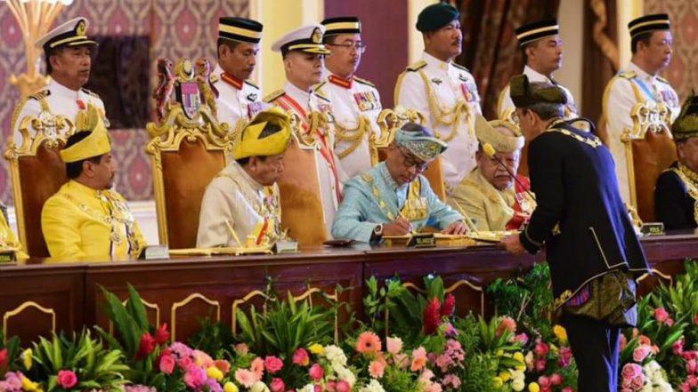 Malaysia's 16th King Sultan Abdullah Sultan Ahmad Shah Takes Oath in Kuala Lumpur