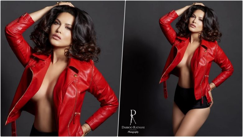 Sunny Leone Goes Topless for Dabboo Ratnani 2019 New Year Calendar, Shares Red Hot & Bold Photo on Instagram!