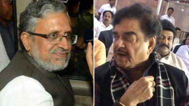 Patna Sahib Battle: Is Shatrughan Sinha vs Sushil Modi on Cards For 2019 Lok Sabha Elections?
