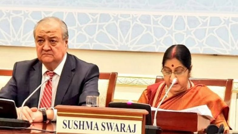 No Business, No Investment if Terrorism Affects a Country: Sushma Swaraj in Uzbekistan
