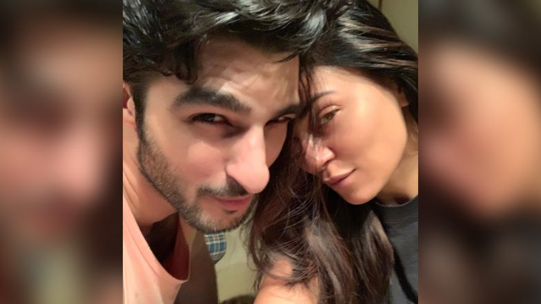 Sushmita Sen Can't Keep Calm on Boyfriend Rohman Shawl's Birthday, Says 'I Love You'! (View Pics and Video)
