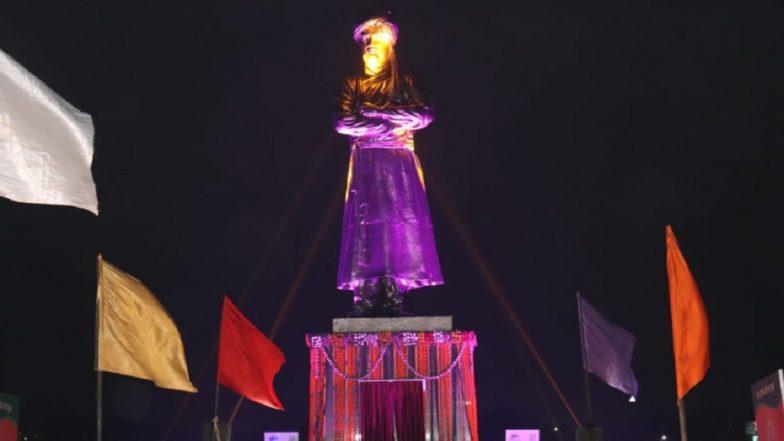Swami Vivekananda's Tallest Statue Inaugurated in Ranchi by Jharkhand CM Raghubar Das