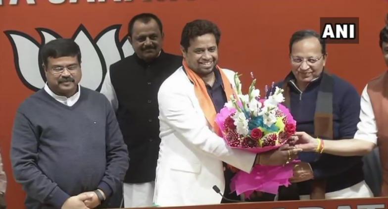 TMC MP Saumitra Khan Joins BJP Ahead of 2019 Lok Sabha Elections
