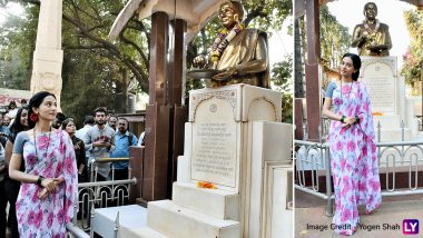Amrita Rao Shares an Uncanny Resemblance With Meenatai Thackeray as She Begins Thackeray Promotions - See Pics