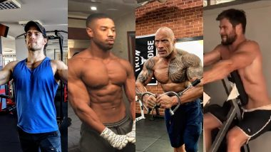 7 Shredded Celebrities You've Got To Follow On Instagram For Some Fitspiration!