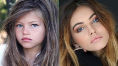 'The Most Beautiful Girl in The World' Thylane Blondeau Wins Hearts Once Again With Her #10YearChallenge, View Pic of Her Transformation