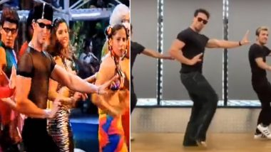 Tiger Shroff Dances on Hrithik Roshan's 'Ek Pal Ka Jeena' on his Birthday and We're Waiting For Duggu's Reaction! (Watch Video)