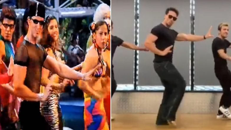 Tiger Shroff Dances on Hrithik Roshan's 'Ek Pal Ka Jeena' on his Birthday and We're Waiting For Duggu's Reaction! (Watch Video)