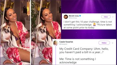Mariah Carey's #10YearChallenge Response 'Time Is Not Something I Acknowledge' Becomes Quote of the Year and Fodder of Hilarious Memes!