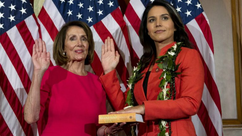 US Presidential Elections 2020: Tulsi Gabbard Says 'Proud to Be 1st Hindu-American to Run for President'