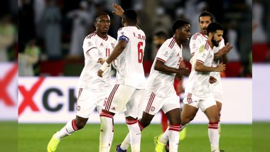 United Arab Emirates vs Kyrgyzstan, AFC Asian Cup 2019 Live Streaming Online: How to Get Asia Cup Match Live Telecast on TV & Free Football Score Updates in Indian Time?