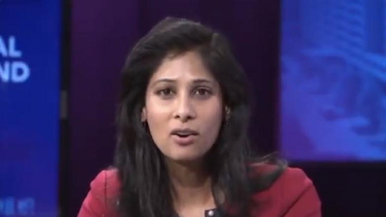 Gita Gopinath Takes Over as IMF Chief Economist