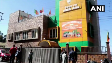Petrol Bombs Hurled at BJP Headquarter in Shillong, No Casualties Reported