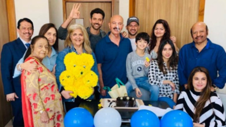 Hrithik Roshan Receives THE Best Birthday Gift Ever From His Dad Rakesh - See Pic