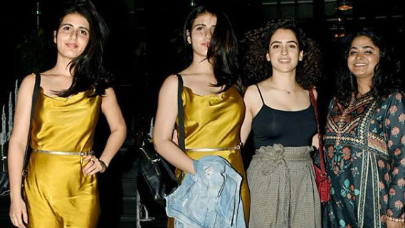 Fatima Sana Shaikh Celebrates Her Birthday With Ashwini Iyer Tiwari and Sanya Malhotra but Where is Aamir Khan?