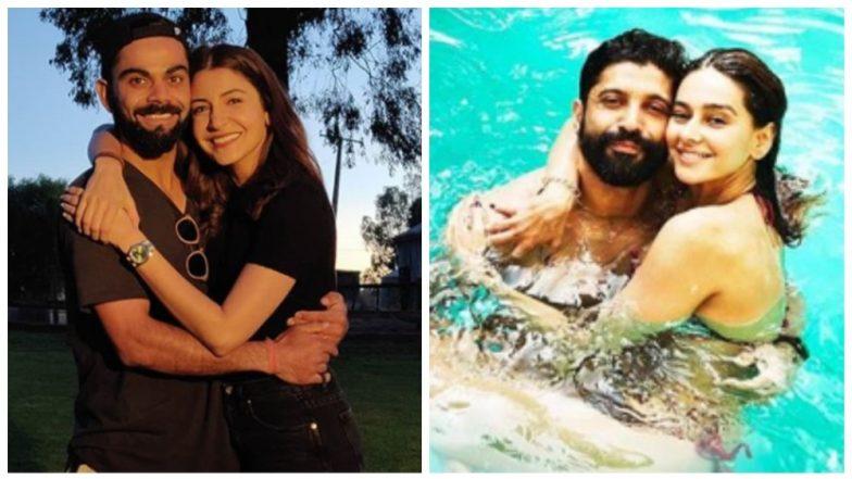 Anushka Sharma-Virat Kohli, Farhan Akhtar-Shibani Dandekar Spend a Romantic Sunday - See Pics
