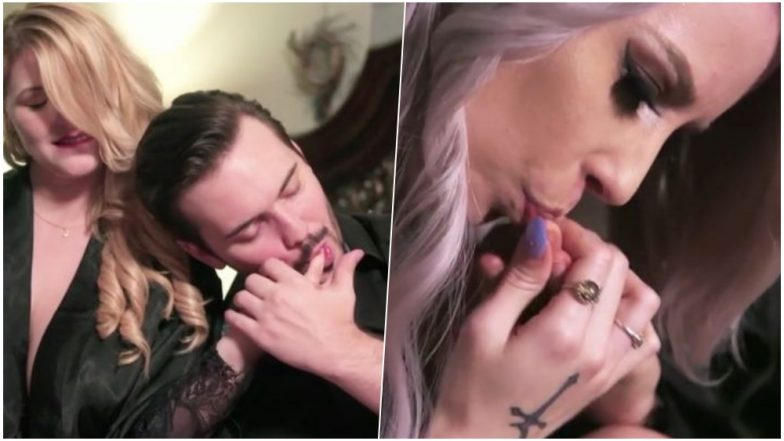 Texas Vampire Couple Demonstrates How They Suck Blood From Donor For Energy (Watch Video)