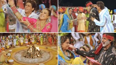 This Iconic Lohri Song Starring Shah Rukh Khan- Preity Zinta Will Only Add More Colour to Your Celebrations This Year- Watch Video