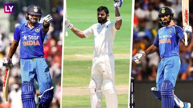 Virat Kohli Does a January 15 Hat-Trick With Centuries on This Day For Three Consecutive Years; Lucky Day, That!