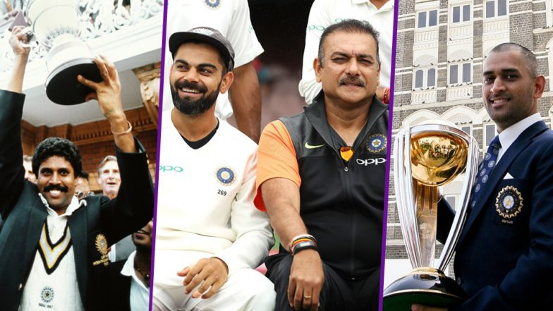 Ravi Shastri and Virat Kohli Trolled on Twitter for Saying India's Test Series Win in Australia Bigger Than World Cup Victories; View Funny Messages