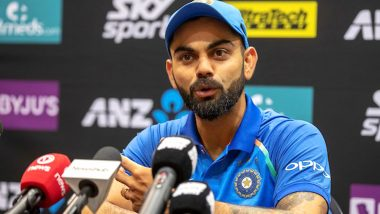 India vs New Zealand Series 2019: BCCI Announces 'Overworked' Virat Kohli to Be Rested for Final 2 ODIs and T20Is Against Kiwis