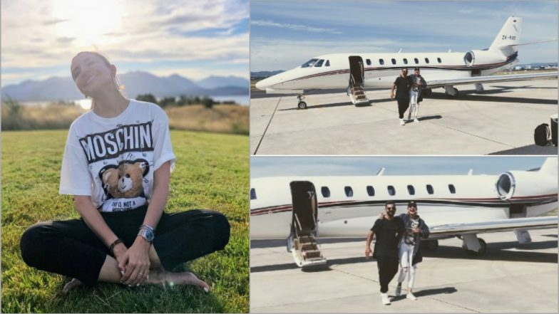 Virat Kohli and Anushka Sharma Off to a Romantic Holiday Post Australia and New Zealand Series, Post Cute Pics on Instagram