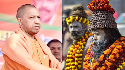 Yogi Adityanath Announces Pension For Sadhus in Uttar Pradesh, Opposition Calls it 'Appeasement Move' Ahead of Lok Sabha Elections 2019