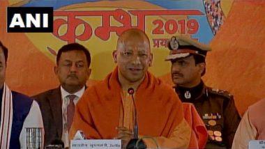 Yogi Adityanath Holds Cabinet Meet at Kumbh Mela 2019, Announces 600-Km-Long Ganga Expressway From Prayagraj to Western Uttar Pradesh