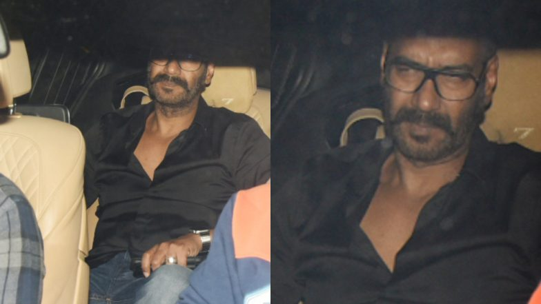 Ajay Devgn Keeps His Koffee Promise, Attends Karan Johar's Party For the Success of Simmba - Watch Video