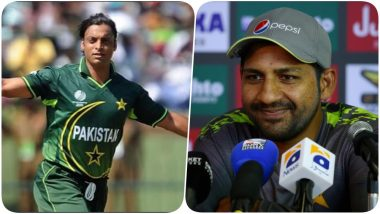 Shoaib Akhtar Calls Sarfaraz Ahmed 'Fat' and 'Most Unfit Captain Ever' After Pakistan's Loss to West Indies in ICC Cricket World Cup 2019, Watch Video