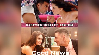 Akshay Kumar and Kareena Kapoor Khan Start Shooting for Good News; the Former Shares a 10 Year Challenge Pic With a Unique Spin
