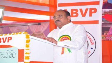 Andhra Pradesh: BJP MLA Akula Satyanarayana Sends Resigation Letter; Set to Join Pawan Kalyan's Jana Sena Party on January 21