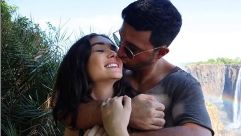 Amy Jackson Announces Engagement to Millionaire George Panayiotou - View Pic