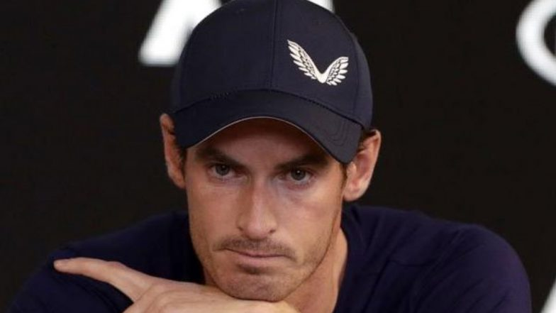 Andy Murray Weeps at Press Conference; Mulls Over Retirement After Australia Open 2019 (Watch Video)
