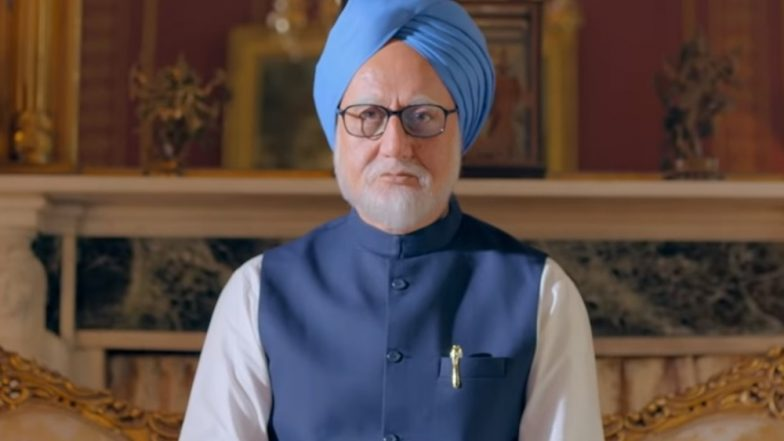 The Accidental Prime Minister Quick Movie Review: Anupam Kher and Akshaye Khanna's Film Revels in Satire