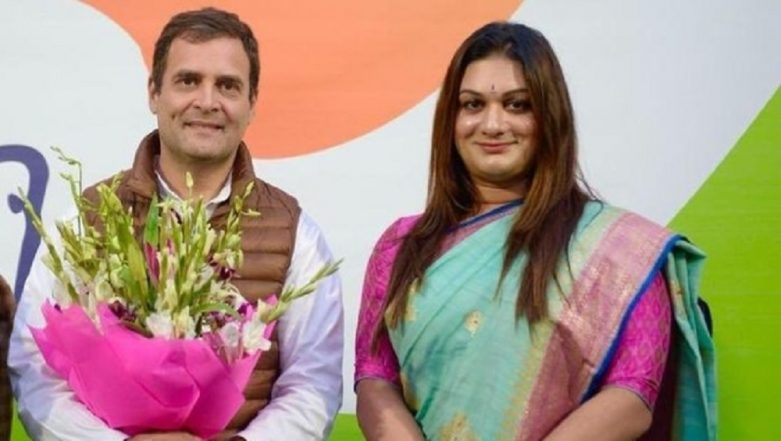 Apsara Reddy First Transgender to be Appointed as All India Mahila Congress General Secretary