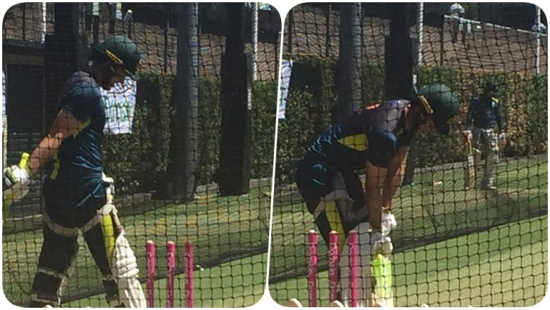 Tim Paine, Nathan Lyon, Usman Khawaja & Others Hit the Nets Ahead of India vs Australia 2019, Fourth Test (See Pics)