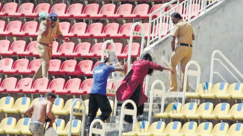 Bee Menace Stops India A Game Against English Lions for 15 Minutes in Kerala (Watch Video)