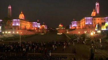 Beating The Retreat Ceremony Tomorrow to End Republic Day 2019 Celebrations; Delhi's Vijay Chowk, Raisina Hills Lit Up