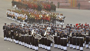 Beating The Retreat 2020 Live Streaming on Doordarshan: Watch Live Telecast of Massed Band Performance by Indian Forces to Conclude Republic Day 2020 Festivities