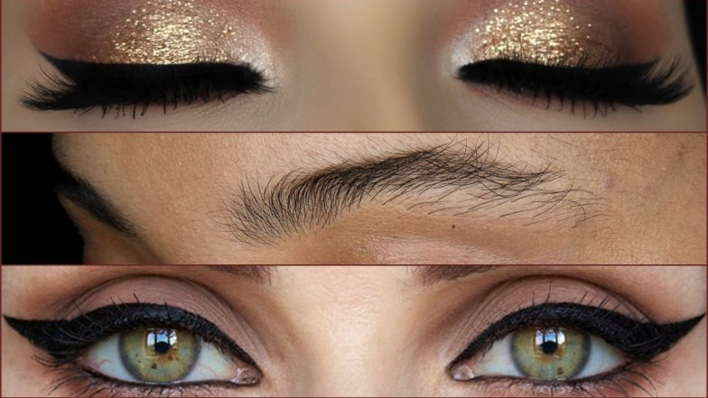 Virgin Brows, Glittery Lids and Winged Eyeliner: 7 Beauty Trends to Rule in 2019